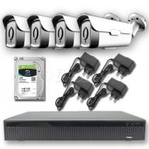 Pakkeløsning til udendørs Overvågning