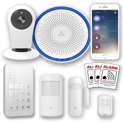 WIFI kamera alarm pakke