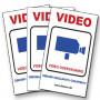 3 Stk. Video Klistermærker